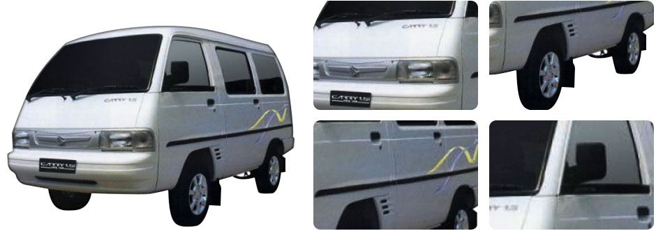 MOBIL SUZUKI CARRY FUTURA REAL VAN MINI BUS SUKABUMI